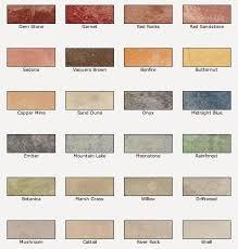 Color Concrete Patio by Valspar Semi Transparent Concrete Stain Colors For A Natural Stone
