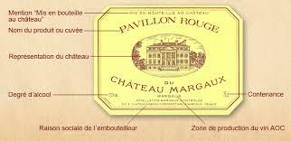 chambre d agriculture de gironde chambre d agriculture de la gironde 19 etiquette vin mention