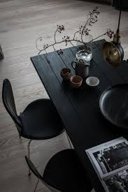 Plank Dining Room Table Best 20 Black Dining Tables Ideas On Pinterest Black Dining