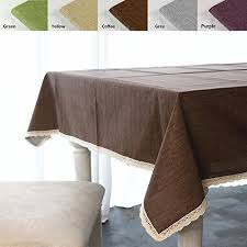 Coffee Table Linens by Coffee Table Cloths Rectangle Amazon Com