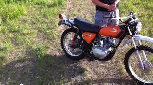 honda xl 175 straight pipe exhaust youtube