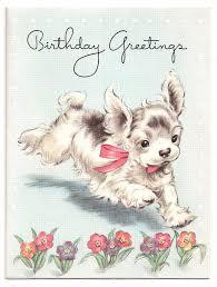 69 best vintage cocker spaniel birthday cards images on pinterest
