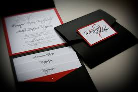 red and white wedding invitations kawaiitheo com