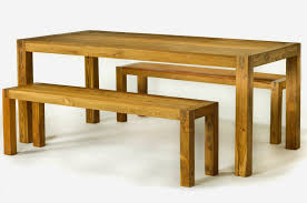 Table With Benches Set Bench Reclaimed Wood Dining Table With Bench Trend Modern