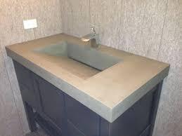 sinks teak vanity cabinet trough sink double 48 bathroom trough