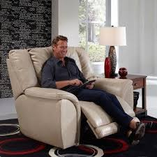 carmine power lay flat recliner pebble recliners and rockers