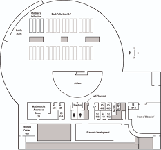 Floor Plan Of Auditorium by Park Library Floor Plans Central Michigan University