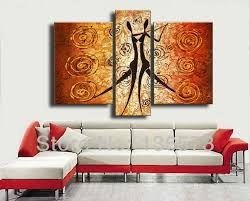 handmade 3 piece wall art abstract r canvas oil painting pictures modern landscape wall art decor for living room