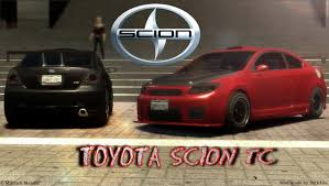 toyota scion gta gaming archive