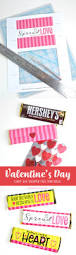Valentine S Day Homemade Gift Ideas by Valentine U0027s Day Candy Bar Wrapper Free Printables Club Chica