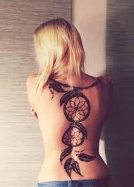 dreamcatcher tattoo back piece dream catcher tattoo images