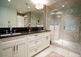 Tiled Vanity Tops Black And White Bathroom Design And Decoration Using White Marble