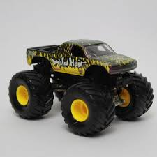 monster truck jam toys wheels monster jam wild hair 3 1 2 monster truck toy car