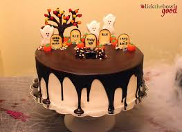 simple halloween cakes lick the bowl good