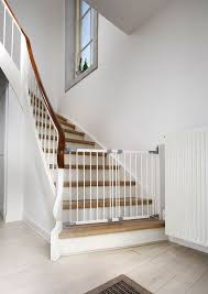 Stair Gates For Banisters Best 25 Child Gates For Stairs Ideas On Pinterest Safety Gates