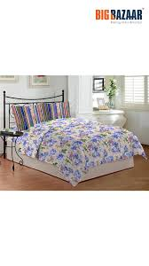 Bombay Dyeing Single Bed Sheets Online India Buy Bombay Dyeing Coral Vine Printed Cotton Double Bed Sheet Set