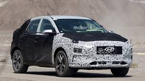 hyundai jeep hyundai to launch two new small crossovers by 2018