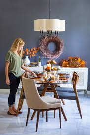 Fall Harvest Decorating Ideas - our fall harvest dining room with hayneedle com design improvised