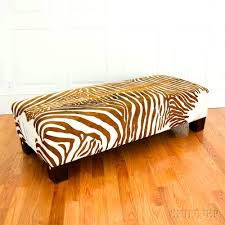 halloween storage bedroom wonderful when friend decorates zebra print bench