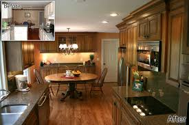 Before And After Galley Kitchen Remodels Brilliant 40 Galley Kitchen Remodel To Open Concept Inspiration