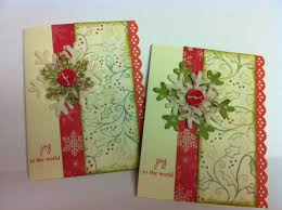 handmade christmas cards adornments by handmade christmas cards