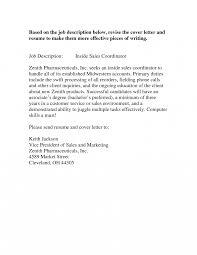 sle resume cover letter inside sales sle resume cover letter representative sles sle