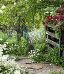 Country Backyard Landscaping Ideas by Using Flowers Around A Split Rail Fence Favorite Places U0026 Spaces