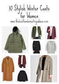 10 stylish winter coats for women the less than domestic goddess
