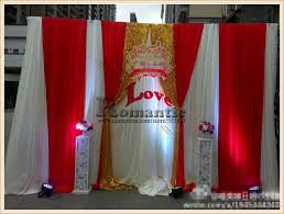 wedding backdrop aliexpress 3x3m white gold wedding backdrop wedding curtain drapes