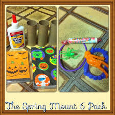 halloween craft treat bag using toilet paper rolls the spring