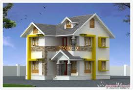 amazing duplex kerala style house design at 1440 sq ft
