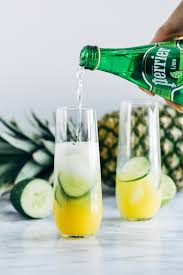 pineapple cucumber lime spritzers making thyme for health