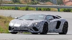 Lamborghini Aventador Horsepower - lamborghini aventador roadster facelift spotted with multiple aero