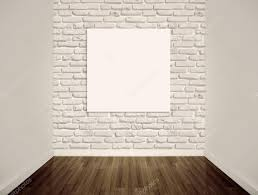blank gallery wall modern art gallery blank picture on the wall stock photo