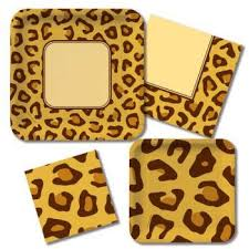 leopard print party supplies animal print leopard party at lewis party supplies
