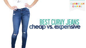 best four jeans for curvy women cheap vs expensive youtube