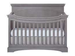 Grey Convertible Crib by Windsor Catalina Flat Top Crib Evolur