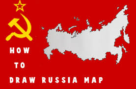 Russia Map How To Draw Russia Map Free Hand Drawing Youtube