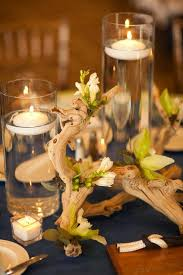 Non Flower Centerpieces For Wedding Tables by 25 Best Driftwood Wedding Centerpieces Ideas On Pinterest