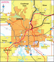 of akron map cities rail all pictures