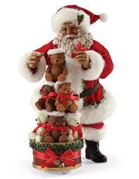 Santa Claus Christmas Ornaments by It U0027s A Black Thang Com African American Santa Claus Black