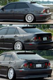 lexus is300 for sale brunei hic smoked tinted jdm rear roof window visor deflector for 2001