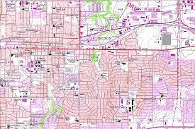 Missouri State Campus Map by