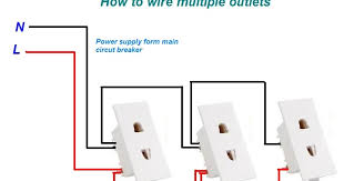 how to wire multiple outlets urdu hindi video tutorial