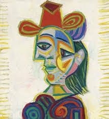 Dora Maar In An Armchair By Pablo Picasso Buste De Femme Dora Maar 1938 Picasso