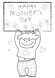 mothers day coloring sheets in spanish free printable mother s