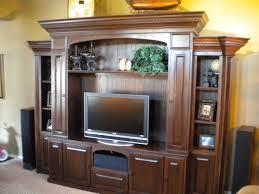 furniture elegant dark entertainment centers for flat screen tvs