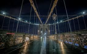 brooklyn bridge night hd desktop wallpaper widescreen high brooklyn bridge night hd desktop wallpaper widescreen high