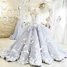 wedding gowns dreamy flower princess wedding dresses 2017 luxury colorful