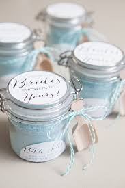 bridal shower favors diy diy bath salt wedding favor craft the craftiest